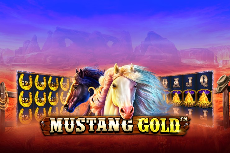Pragmatic Play - Mustang Gold video slot