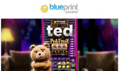 Mischievous ted thunders into Blueprint Gaming's Pub Fruit Series