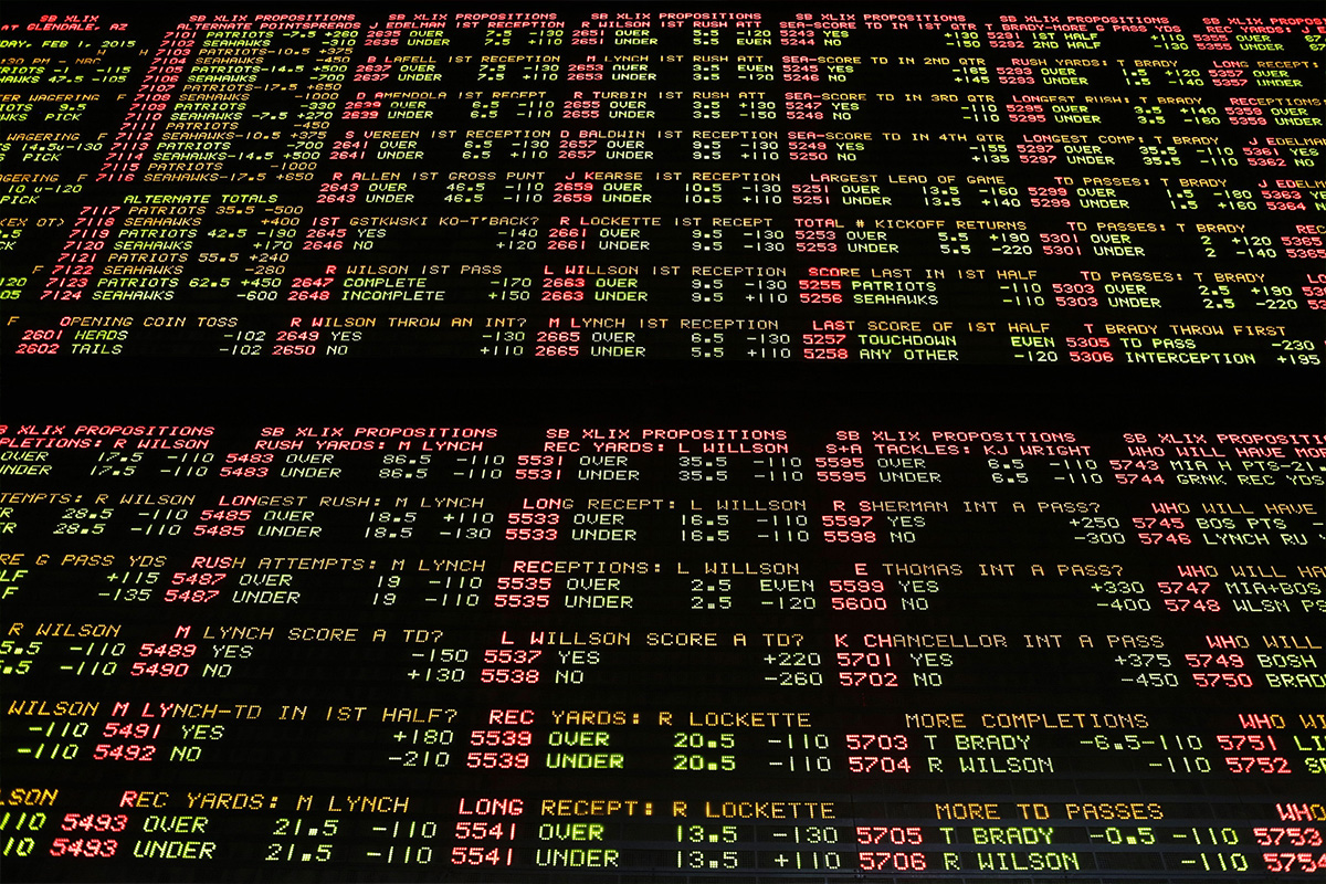 Who won and who lost in the first year of Super Bowl betting
