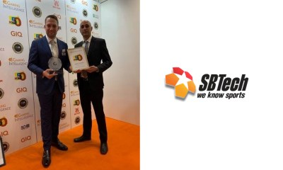 SBTech claims Sports Betting Supplier of the Year hat-trick at Gaming Intelligence Awards – Andrew Cochrane named in Hot 50 list