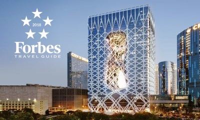Melco attains record-breaking 85 stars at 2019 Forbes Travel Guide