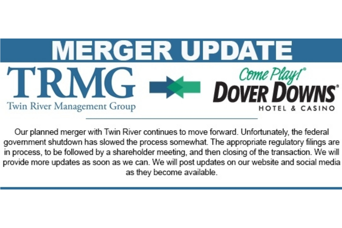 Dover Downs Special Meeting to Approve Merger with Twin River Scheduled for March 26, 2019