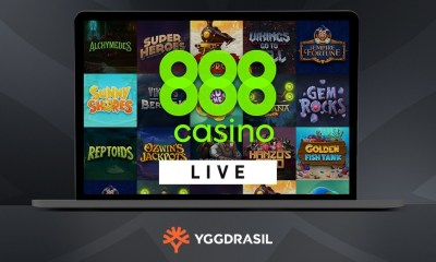 Yggdrasil goes live with 888