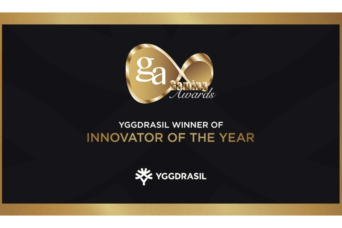 Yggdrasil named Innovator of the Year at International Gaming Awards