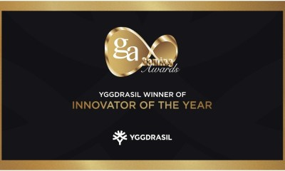 Yggdrasil named Innovator of the Year at International Gaming Awards