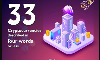 33 Cryptocurrencies Described In Four Words Or Less - INFOGRAPHIC