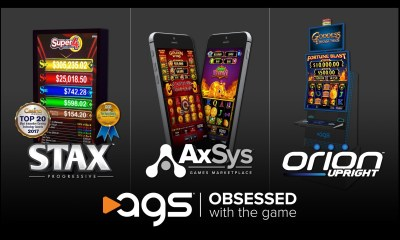 AGS Demonstrates Its Obsession With Tribal Gaming At The NIGA Indian Gaming Trade Show April 3-4; New Orion Upright Cabinet Makes NIGA Debut