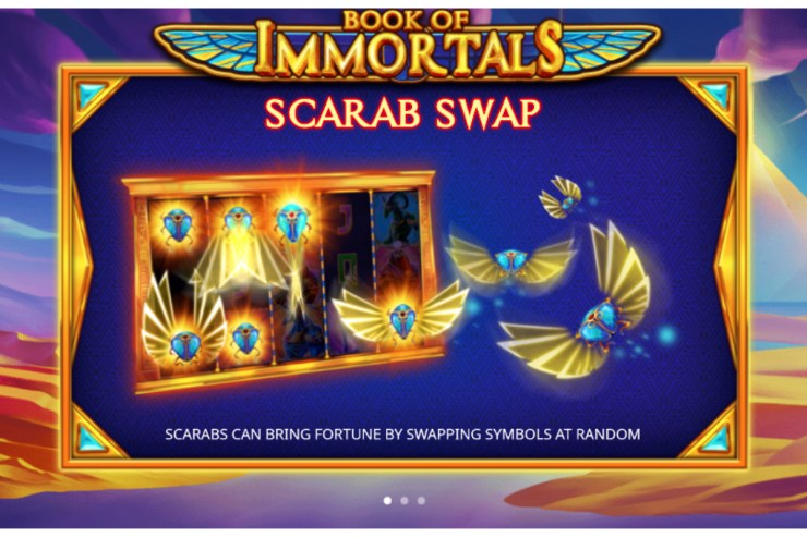 iSoftBet - Book of Immortals