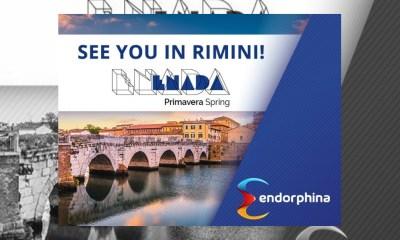 Endorphina will be at Enada Primavera in Rimini
