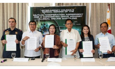 PAGCOR and four other agencies intensify drive vs. illegal online gambling