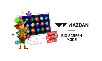 Wazdan launch new Unique Wazdan Feature, Big Screen Mode