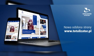 New design for Totalizator Sportowy's website