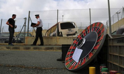 Police at British Military Base Abolishes Illegal Gambling in Areas Under Cyprus' Jurisdiction