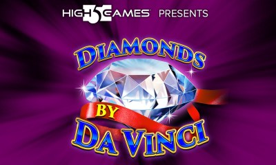 High 5 Games creates Diamonds by Da Vinci masterpiece