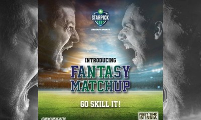 StarPick disrupts Fantasy Gaming in India with the innovative, easy to play and first of its kind 'Fantasy Matchup'