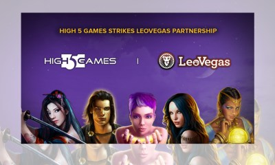 High 5 Games strikes LeoVegas partnership