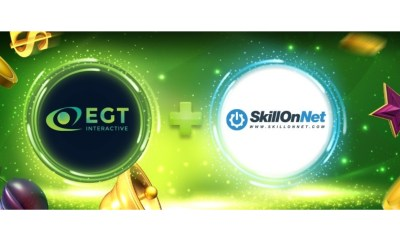 EGT Interactive content, goes live with SkillOnNet