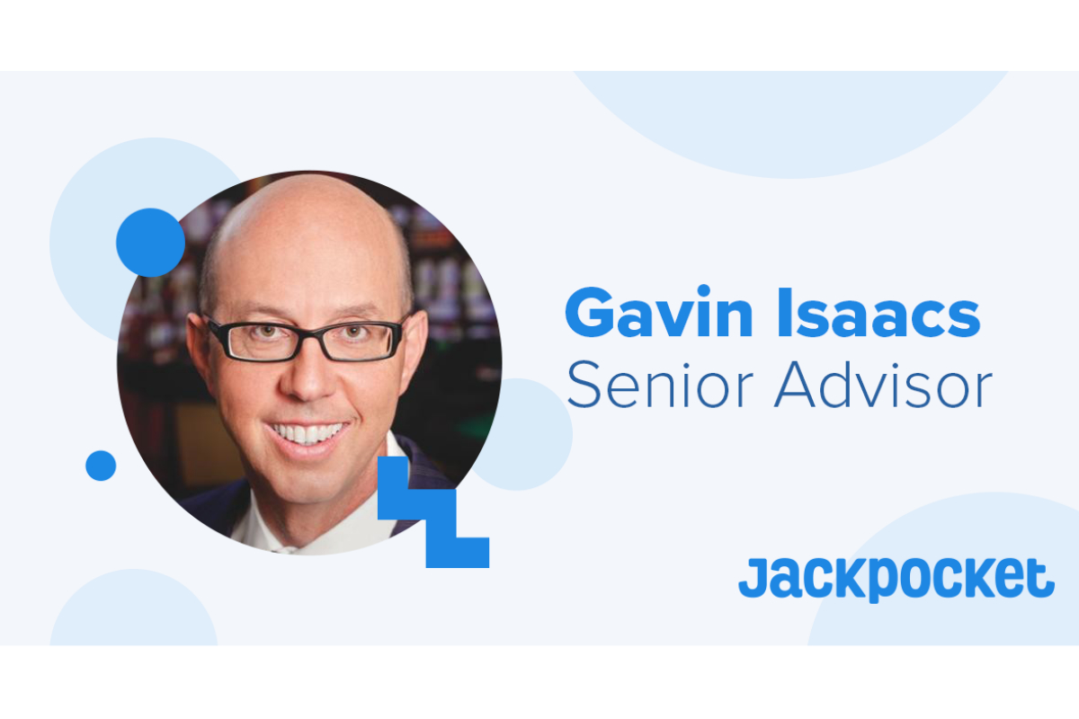 Jackpocket Announces Gaming Industry Veteran Gavin Isaacs as Senior Board Advisor at Betting on Sports America