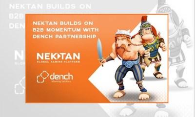 Nektan builds on B2B momentum with Dench partnership
