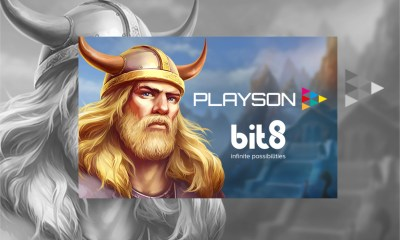Playson signs partnership agreement with Bit8