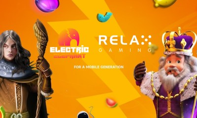 Relax Gaming grows content offering with Electric Elephant Games partnership