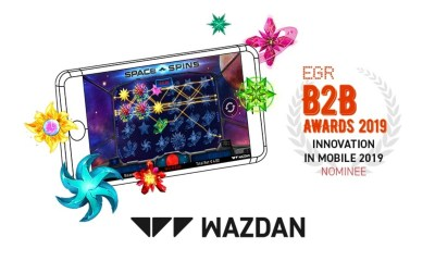 Wazdan shortlisted for the prestigious EGR B2B Awards