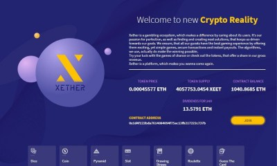 Xether Launches Transparent Gambling Ecosystem On Smart Contracts