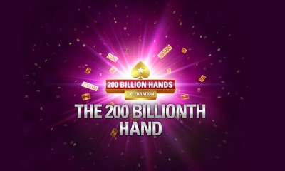 PokerStars Celebrates it's 200 Billionth Hand Achievement