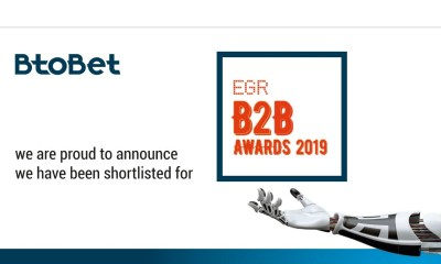BtoBet Finalist In Four Different Categories Of Prestigious EGR B2B Awards