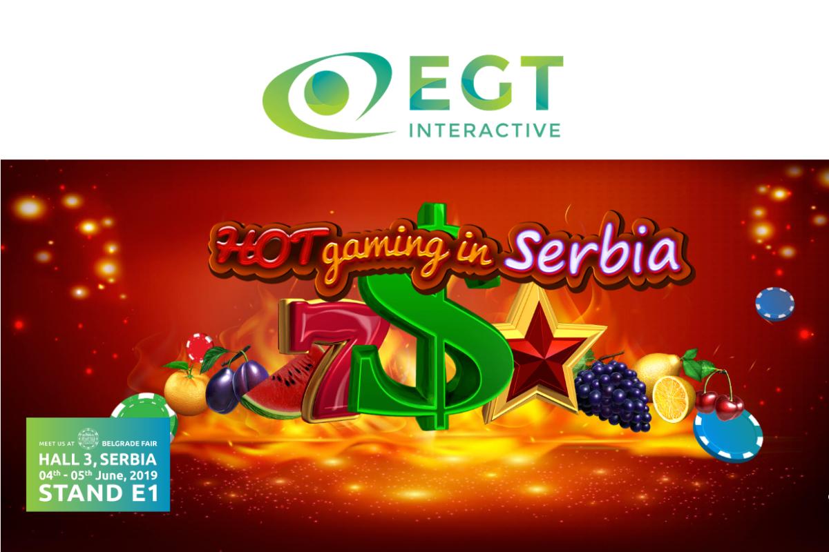 EGT Interactive will be exhibiting at Belgrade Future Gaming this June