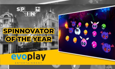Evoplay Entertainment crowned Spinnovator of the Year