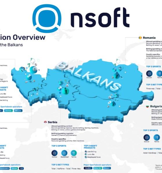 Infographics - NSoft's Balkans Overview
