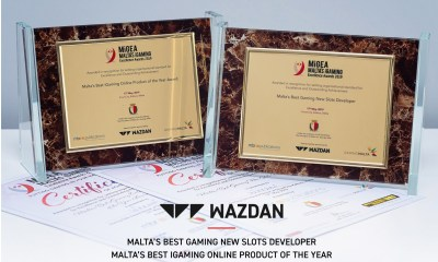 Wazdan Honoured with Two Prestigious MiGEA Awards
