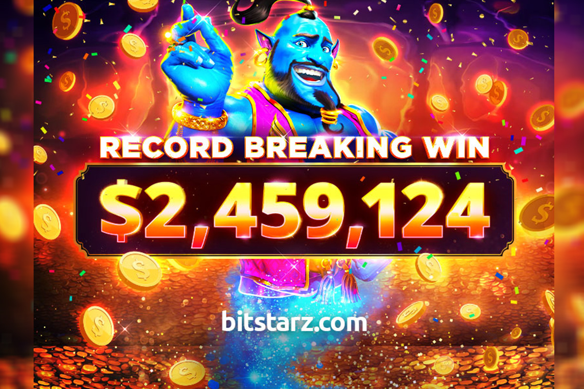 Bitstarz Player Lands Record-breaking $2.4 Million Win!