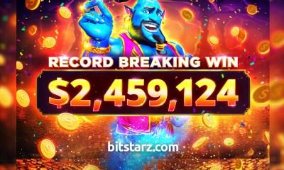 Bitstarz Player Lands Record-breaking $2.4 Million Win!