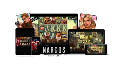 NetEnt joins forces with Gaumont to launch hotly-anticipated Narcos video slot