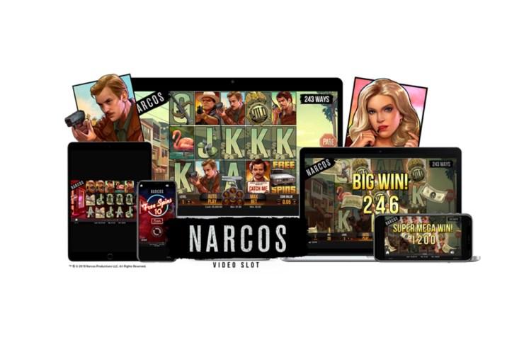 NetEnt-Narcos video slot