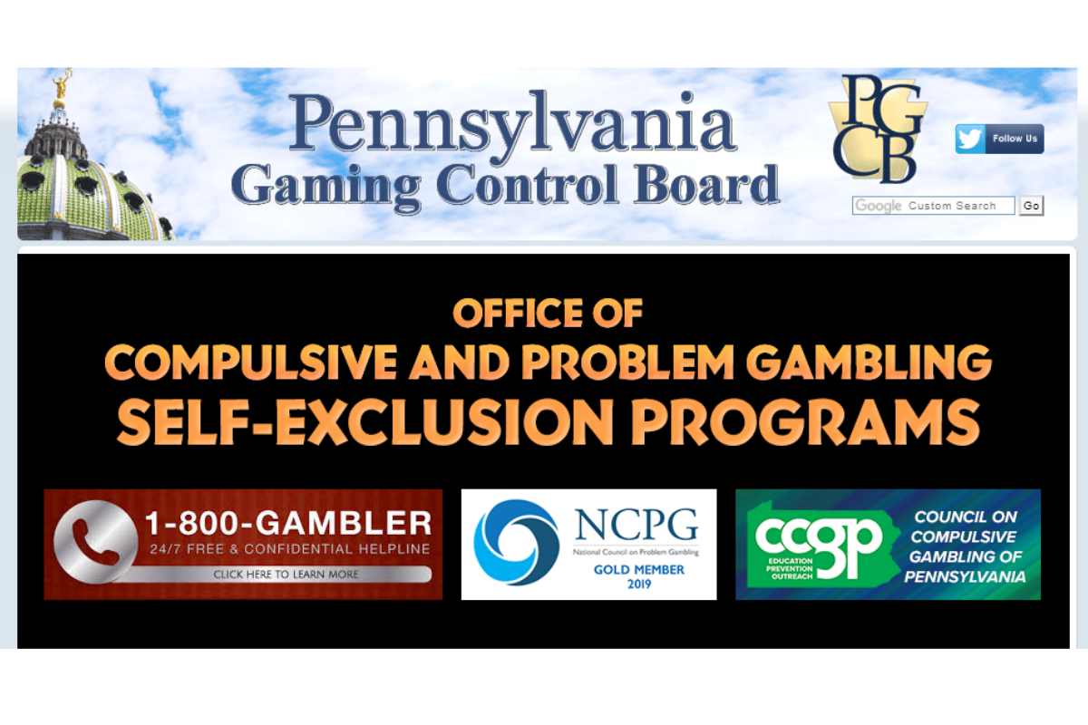 PA Gaming Control Board Launches Self-Exclusion Program for Online Gambling