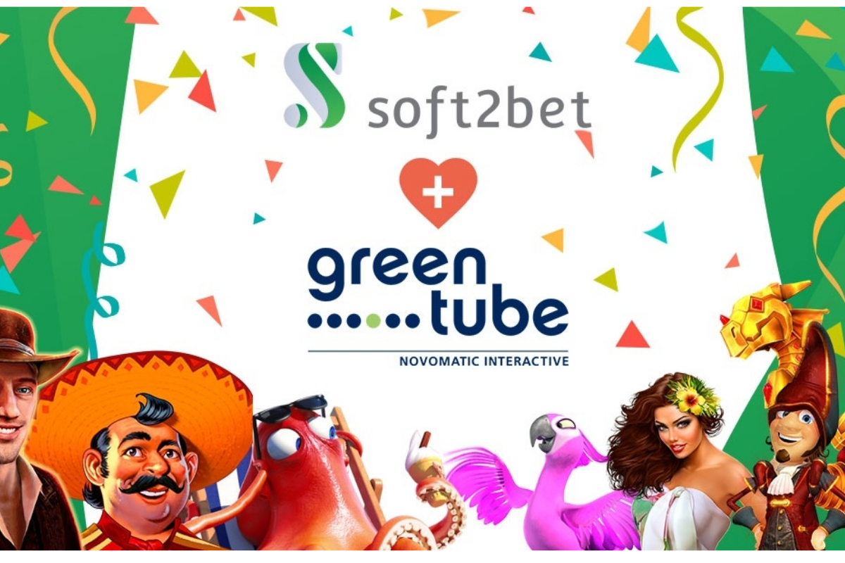 Soft2Bet strengthens its gaming portfolio with Greentube