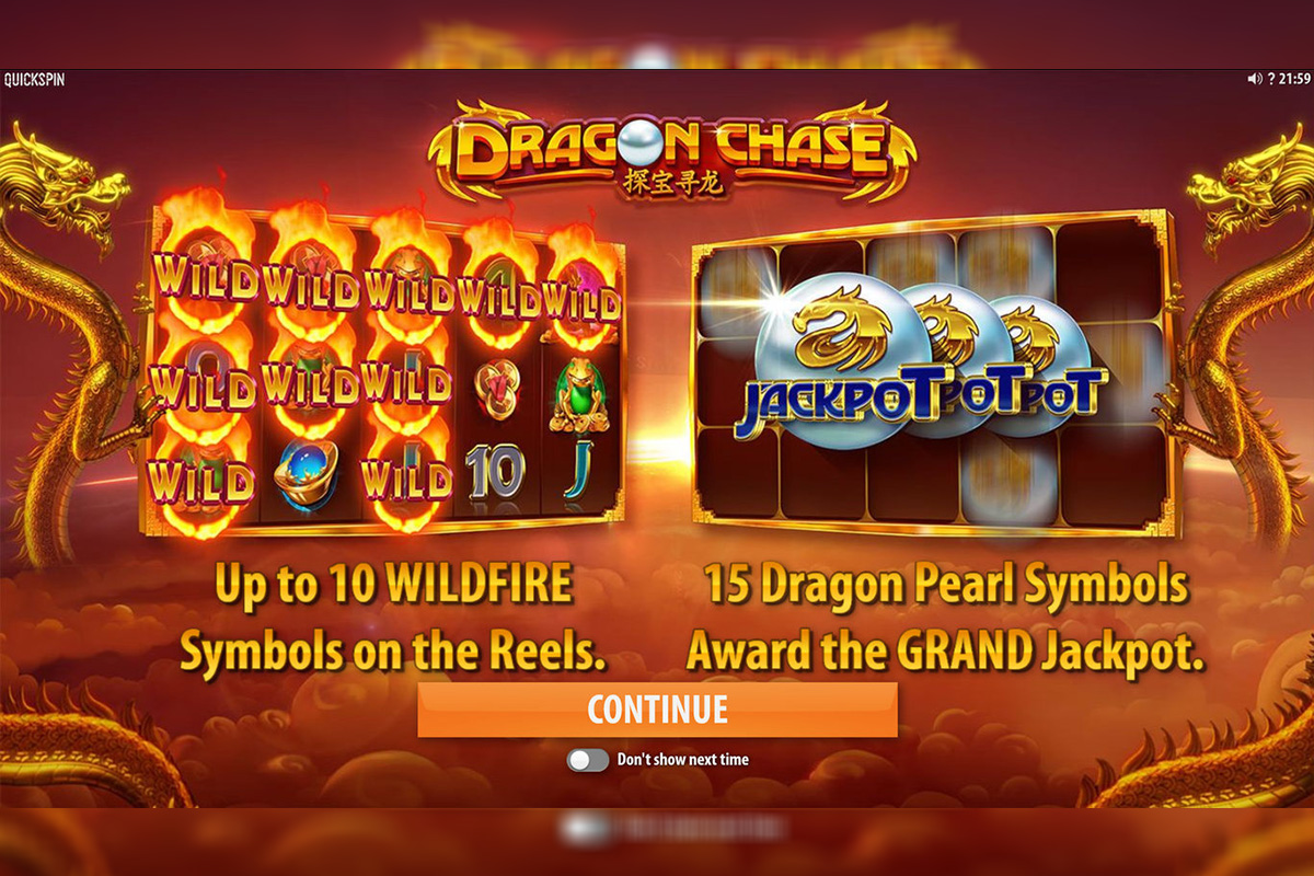 Quickspin Launches Dragon Chase