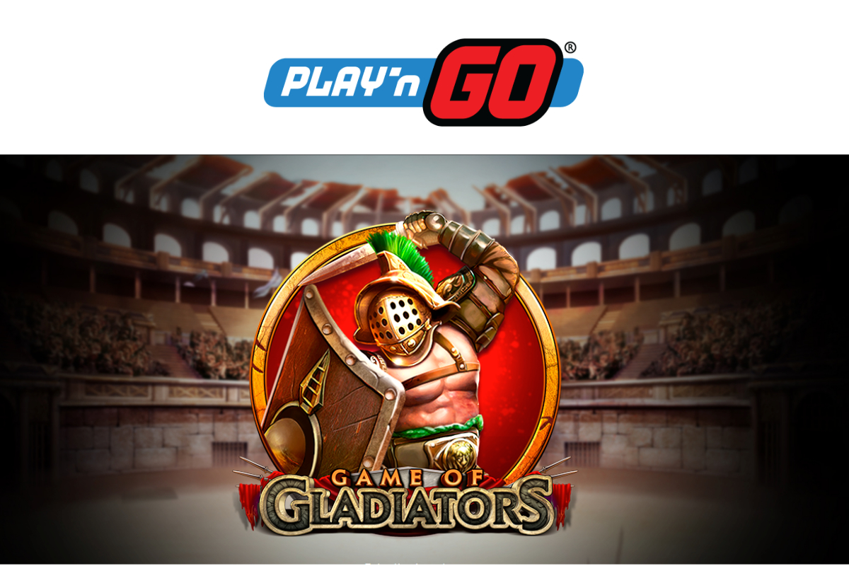 Play'n GO Release Game of Gladiators into the Gaming Arena!