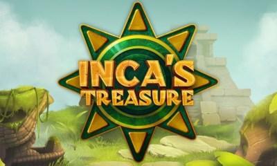 Tom Horn's new slot Inca's Treasure