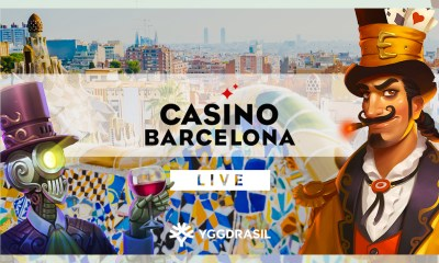 Yggdrasil games debut in Spain with Casino Barcelona Online