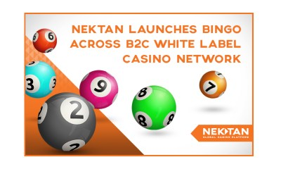 Nektan launches bingo across B2C white label casino network
