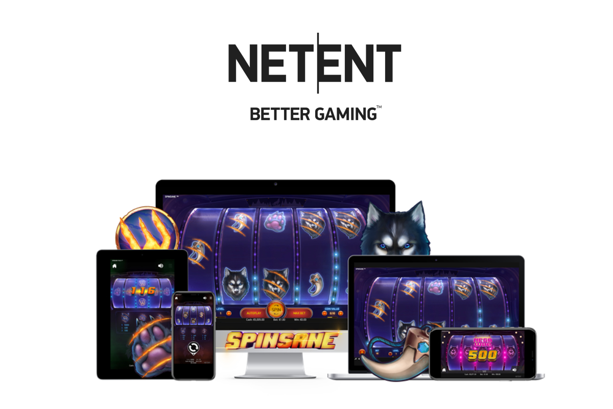 NetEnt launches suspense-filled Spinsane – a wolf-themed slot with serious bite