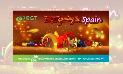 EGT Interactive as an exhibitor again at ExpoJoc Valencia