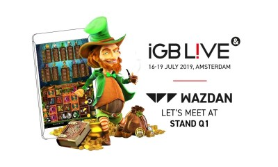 Wazdan Set to Exhibit at iGB Live! Bringing Attendees a First Preview of Larry the Leprechaun