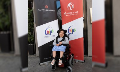 CHIPS Charity and Genting UK Deliver Life Changing Gift to a Schoolgirl in Chichester