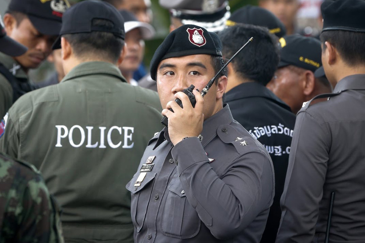 Thailand Cops Swoop on Forest Gambling Den and Arrest 26 Gamblers