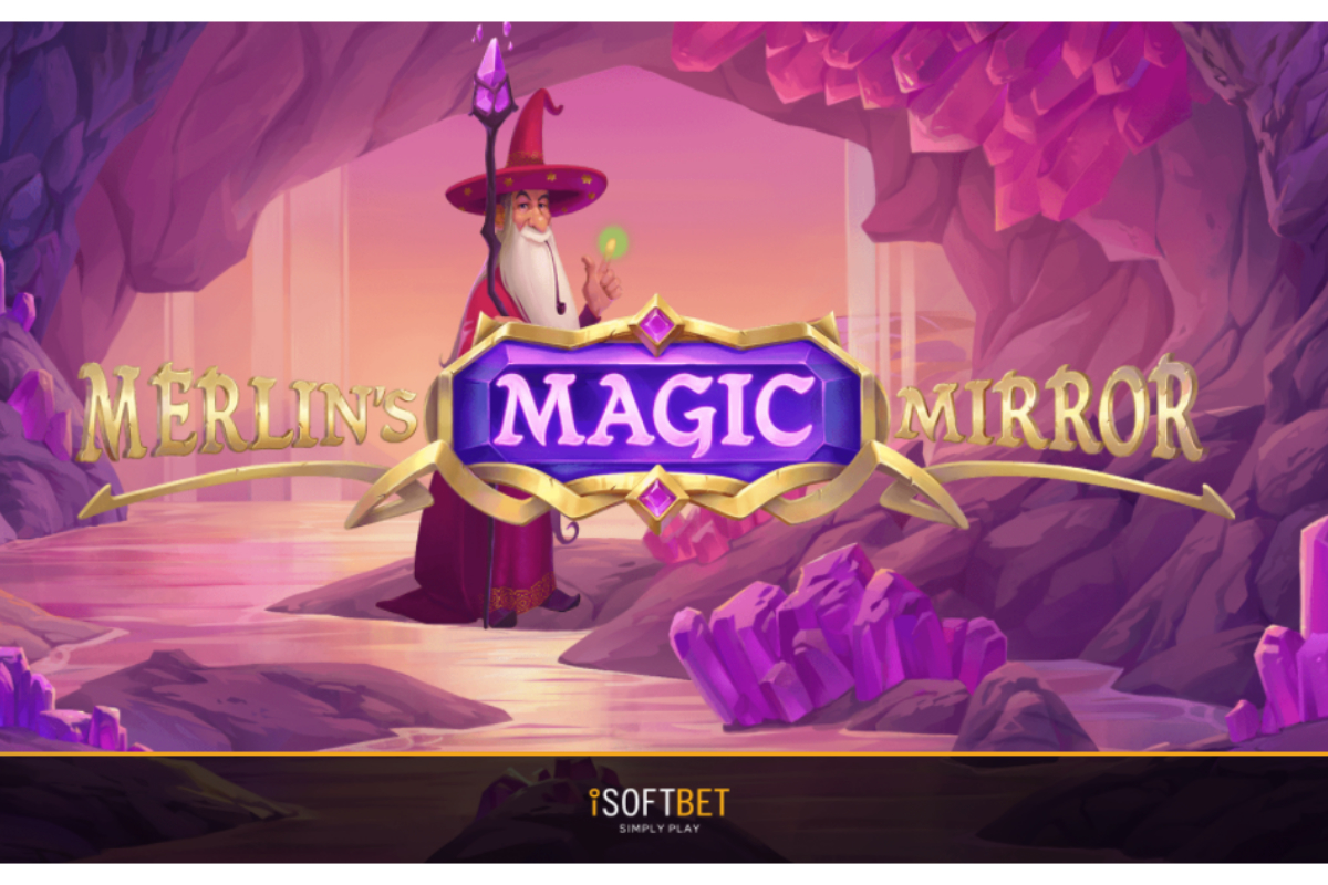 iSoftBet conjures up a hit with Merlin's Magic Mirror